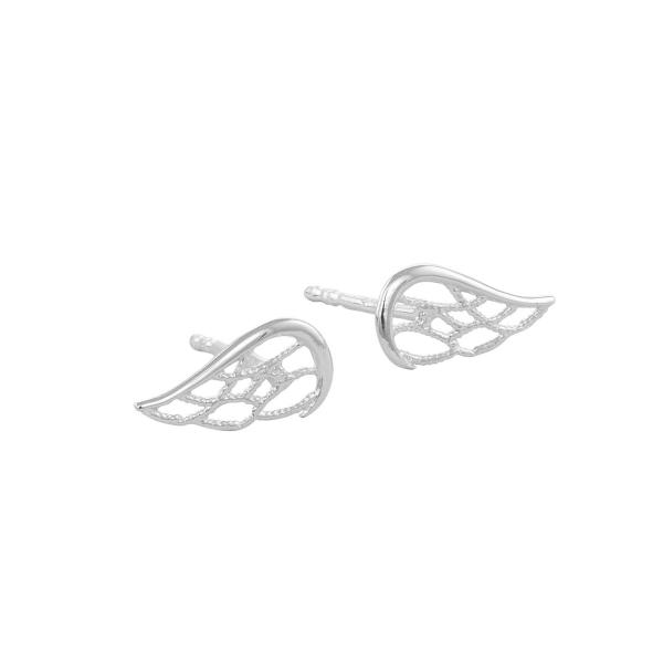 Kolczyki srebrne skrzydełka
