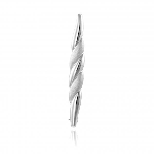 Broszka srebrna
